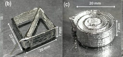 3D printable gallium alloy